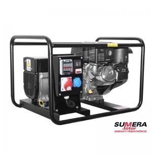 AGREGAT PRĄDOTWÓRCZY SUMERA SMG-7TE-K-AVR MOC MAX.7,5kVA AUT+SZR